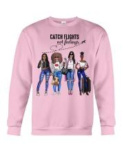 Catch Flights Not Feelings Summer Crewneck Sweatshirt thumbnail