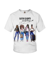 Catch Flights Not Feelings Summer Youth T-Shirt thumbnail