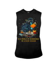 In A World Of Bookworms Be A Book Dragon Sleeveless Tee thumbnail