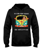 On A Dark Desert Highway Hooded Sweatshirt tile