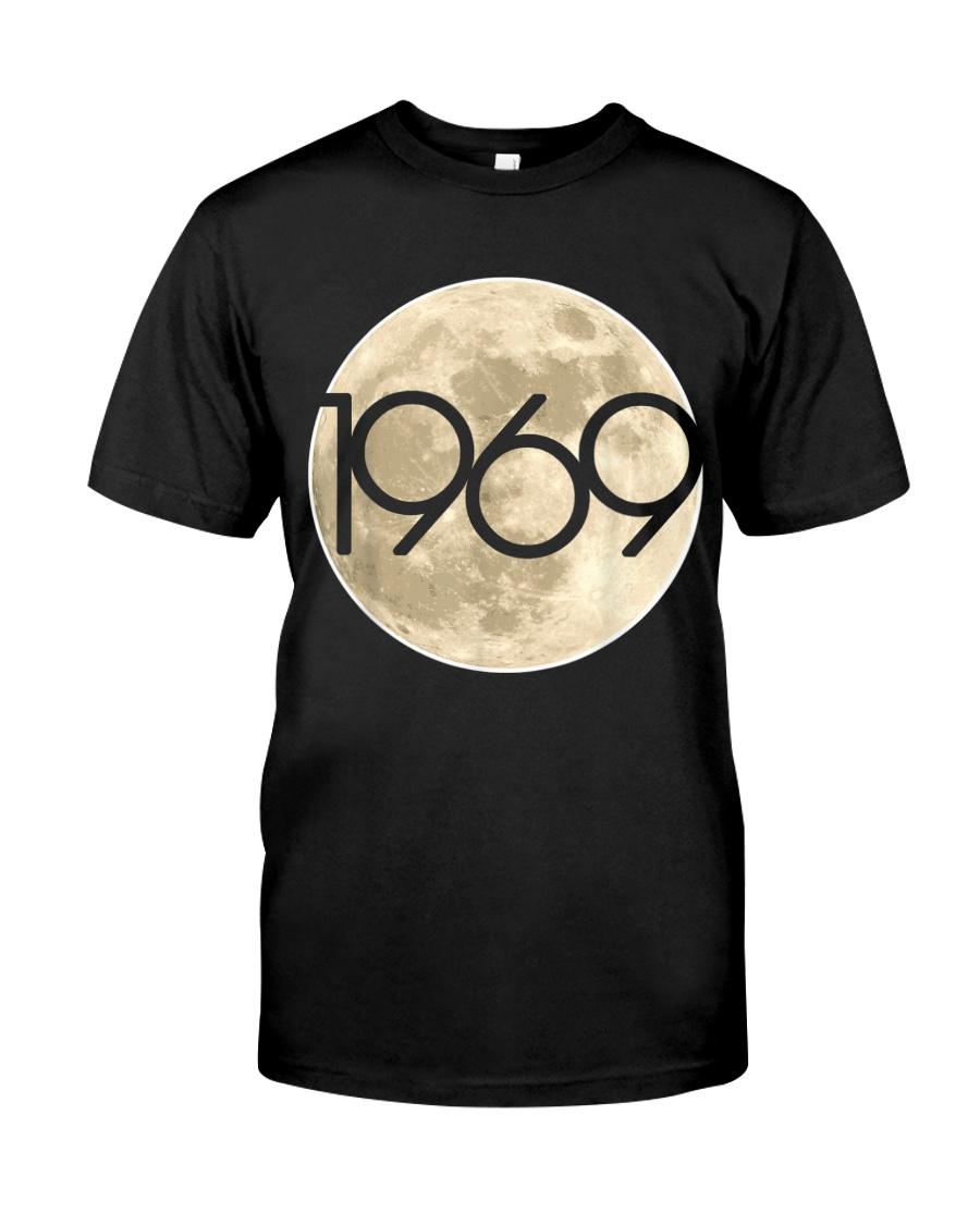 50Th Anniversary Apollo 11 1969 Moon Landing Classic T-Shirt