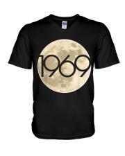 50Th Anniversary Apollo 11 1969 Moon Landing V-Neck T-Shirt thumbnail