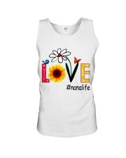 Love Nana Life Heart Sunflower Shirt Unisex Tank thumbnail