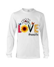 Love Nana Life Heart Sunflower Shirt Long Sleeve Tee thumbnail