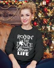 Ballet and Dance Tshirt Crewneck Sweatshirt lifestyle-holiday-sweater-front-2