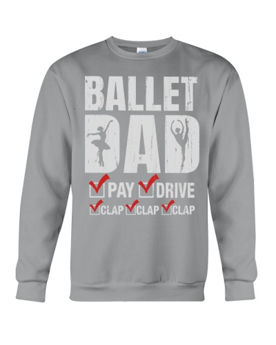 Ballet and Dance Dad Tshirt