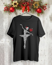Ballet and Dance Xmas Tee Classic T-Shirt lifestyle-holiday-crewneck-front-2