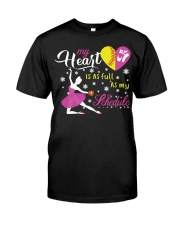 Ballet and Dance Tee Classic T-Shirt front