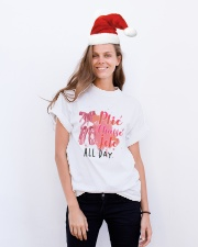 Ballet and Dance All Day Tee Classic T-Shirt lifestyle-holiday-crewneck-front-1