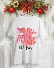 Ballet and Dance All Day Tee Classic T-Shirt lifestyle-holiday-crewneck-front-2