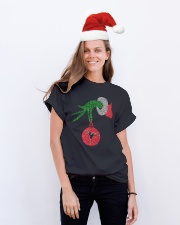 Ballet and Dance Xmas Tee Classic T-Shirt lifestyle-holiday-crewneck-front-1