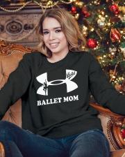 Ballet Mom Tee Crewneck Sweatshirt lifestyle-holiday-sweater-front-3