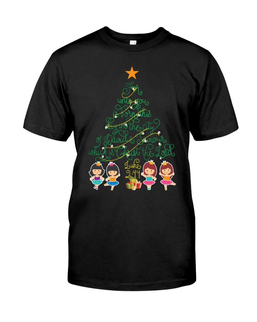 Ballet and Dance Xmas Tee Classic T-Shirt