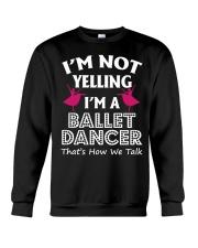 Ballet Dancer Tee Crewneck Sweatshirt front