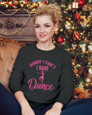 Sorry I Can't I Have Dance Crewneck Sweatshirt lifestyle-holiday-sweater-front-2