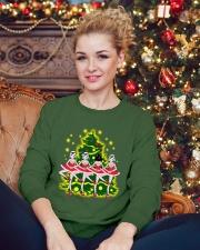 Ballet and Dance Xmas Crewneck Sweatshirt lifestyle-holiday-sweater-front-2