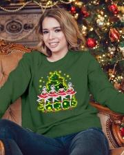Ballet and Dance Xmas Crewneck Sweatshirt lifestyle-holiday-sweater-front-3