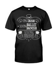 Irish Ballet Dancer Classic T-Shirt front
