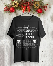 Irish Ballet Dancer Classic T-Shirt lifestyle-holiday-crewneck-front-2