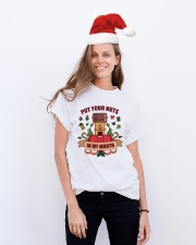 Put Your Nuts In My Mouth Tshirt Classic T-Shirt lifestyle-holiday-crewneck-front-1