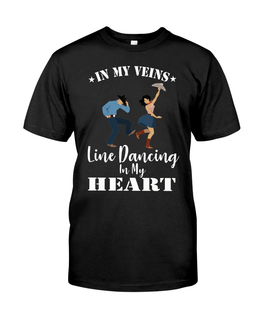 Line Dancing In My Heart Tee Classic T-Shirt