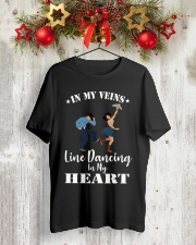 Line Dancing In My Heart Tee Classic T-Shirt lifestyle-holiday-crewneck-front-2