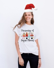 Dreaming of sugar plums Tshirt Classic T-Shirt lifestyle-holiday-crewneck-front-1