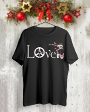 Ballet and Dance Love Tee Classic T-Shirt lifestyle-holiday-crewneck-front-2