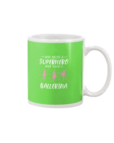 Who Needs a Superhero When You're A Ballerina