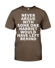 NEVER ARGUE Classic T-Shirt thumbnail