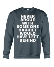 NEVER ARGUE Crewneck Sweatshirt thumbnail