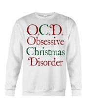 OCD Christmas Crewneck Sweatshirt thumbnail