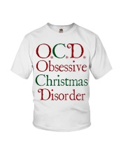 OCD Christmas Youth T-Shirt thumbnail