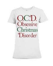 OCD Christmas Premium Fit Ladies Tee thumbnail