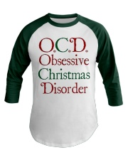 OCD Christmas Baseball Tee thumbnail