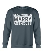 REAL WOMEN MARRY Crewneck Sweatshirt thumbnail