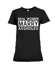 REAL WOMEN MARRY Premium Fit Ladies Tee thumbnail