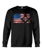 Vintage US Masonic Flag Crewneck Sweatshirt tile