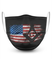 Vintage US Masonic Flag Masks tile