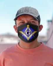 Masonic Symbol Cloth face mask aos-face-mask-lifestyle-06