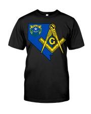 Nevada Freemasons Classic T-Shirt front