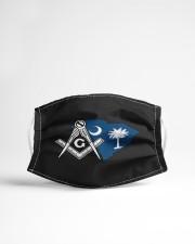 South Carolina Freemasons Cloth face mask aos-face-mask-lifestyle-22