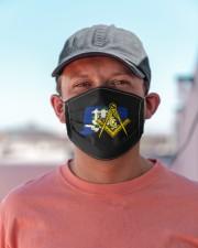 Connecticut Freemasons Cloth face mask aos-face-mask-lifestyle-06