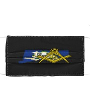 Connecticut Freemasons Cloth face mask front
