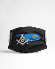 Oklahoma Freemasons Cloth face mask aos-face-mask-lifestyle-22