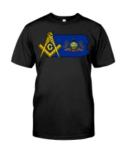Pennsylvania Freemasons Classic T-Shirt front