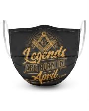 Legends Are Born In April Masks tile