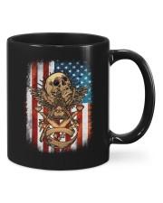 USA Flag Skull Square and Compassed Mugs tile