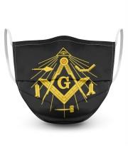 Masonic Tools 3 Layer Face Mask - Single front