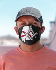 Alabama Freemasons Cloth face mask aos-face-mask-lifestyle-06